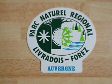 Pegatina Parque Natural Región Livradois-Forez Auvergne