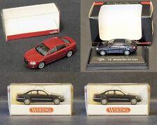 4 coches H0, Herpa, Wiking, Model - Nuevos a estrenar