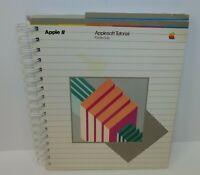 Apple 11 Applesoft Tutorial iie Manual