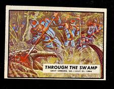 1962 Topps Civil War News - #73 Through The Swamp No Crease