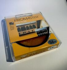 Promaster 58mm Sepia Brown Filter *NEW* Made in Japan
