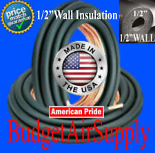 """7/8 x 3/8- (1/2"""" INSULATED) copper line set x 25ft -LINESET MADE IN THE USA"""