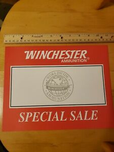 Winchester Ammunition Special Sale Signs