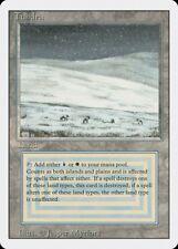 Tundra Revised HEAVILY PLD Dual Land Rare Reserved List MAGIC MTG CARD ABUGames