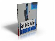 Self Build 100 Watt+ Solar Panel Construction Manual Digital Copy Download Pdf