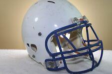 Riddell ADULT Game Used Worn Revolution Football Helmet MEDIUM White 1-23