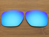 Replacement Ice Blue Polarized Lenses for-Oakley Sliver XL Sunglasses OO9341