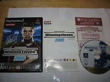 World Soccer Winning Eleven 2008 Playstation 2 PS2 Japan import