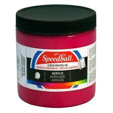 Speedball Acrylic Screen Printing Ink 236ml - 944ml Choose Size/Colour