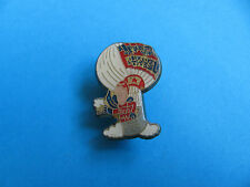 "Vintage BUDWEISER Balloon ""Bud Man"" pin badge. BUD."