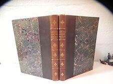 ASTIER DE LA VIGERIE CATECHISME DE PERSEVERANCE manuscrits reliés fleur de lys