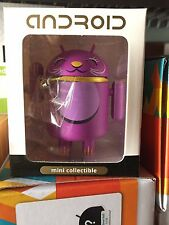 Android Lucky Cat Series Purple Close Eyes Shane Jessop Kidrobot Andrew Bell