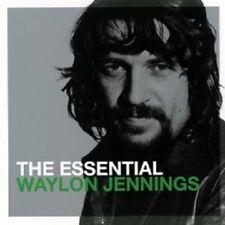 The Essential 0886979342125 by Waylon Jennings CD