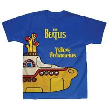 OFFICIAL LICENSED - THE BEATLES - YELLOW SUBMARINE COVER SUBLIMATION T SHIRT