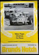 Escotilla de marcas páginas amarillas programa carreras de coche de Navidad 26 diciembre de 1972