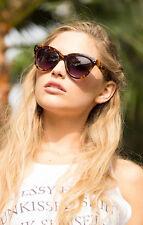 4ea07d19c9cd9 Quay Australia Summer Fling Qw000086-leobrn Leopard Brown 100 UV Sunglasses  Browns One Size