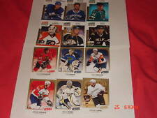 2009-10 09-10 UD VICTORY UPDATE GOLD 12 CARD LOT WITH COUTURE