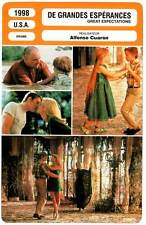 DE GRANDES ESPERANCES - Hawke,Paltrow (Fiche Cinéma) 1998 - Great Expectations