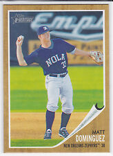 Matt Dominguez Houston Astros  2011 Topps Heritage Minor League Card