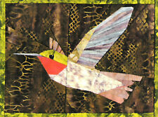 Broad-tailed hummingbird quilt Pattern  Silver Linings