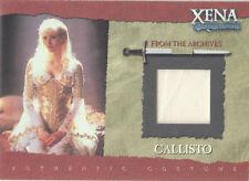 Xena Season 6 - R9 Callisto Costume Card