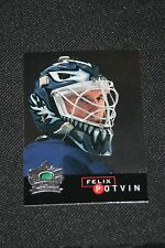 H12) Lot of 30 1995-96 Parkhurst Crown Collection Silver Series Felix Potvin