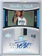 2004-05 EXQUISITE DWIGHT HOWARD AUTO PATCH RC #42/99 RARE