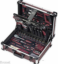 KRAFTWERK 3948 PROFI AluPro Werkzeugkoffer 263-tlg Koffer Werkzeug Alukoffer NEU