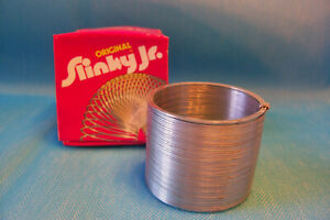 Vintage Toy Original Slinky Jr. with Box