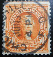 U.S.Stamps:Scott#310, 50 cents, Orange, The Regular Series issues of 1902-1903