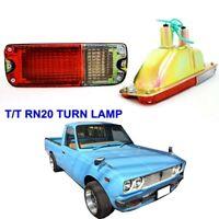 Toyota Corolla KE70 TE71 KE73 1979-84 front bumper lamp lights turn signal LH-RH