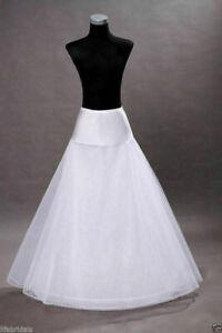 Plus Size / Normal Size 1 hoop A-line Wedding Bridal Petticoat Crinoline