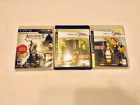 Lot Of 3 PS3 Video Games Infamous Killzone 2 Assassins Creed Playstation 3
