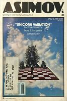 April 13, 1981  Isaac Asimov's Science Fiction Magazine Vol. 5, No. 4