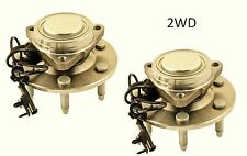 2007-2012 Chevrolet Avalanche (2WD) Front Wheel Hub Bearing Assembly (PAIR)