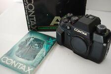 Contax AX 35mm SLR Film Camera Body&Case