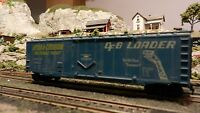 Athearn HO BB 50' Plug Door Boxcar, DFB Loader, Rail Line Couplers, Exc.