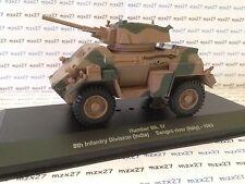 VEHÍCULO MILITAR Humber MkIV 8ª infantería division (INDIA) IXO 1/43ème NUEVO