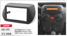 Carav 11-368 2din marco adaptador Citroen Nemo Peugeot Bipper Fiat Fiorino Qubo