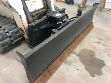 "2015 Bobcat 90"" Dozer Blade 6 Way Blade For Skid Steer Loader Low Cost Shipping"