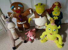 SHREK PLUSH BUNDLE soft toy DREAMWORKS talking DRAGON donkey FIONA baby