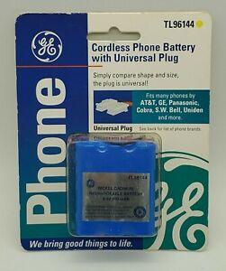 GE Cordless Phone Battery TL96144 New NIP 3.6 Volt Fits AT&T Panasonic Uniden SW