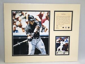 1995 Frank Thomas Chicago White Sox Matted Kelly Russell Lithograph Print #1091