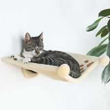 Trixie Plush Cat Hammock Style Wall Mounted Cat Bed Cuddly Nest, 41x42cm - Beige