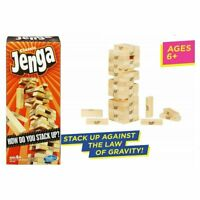 Wood Block Jenga Classic Game Wooden Blocks Tower Official Adult Family Fun New