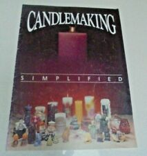 Candlemaking Simplified By G Cromwell SBS Illustrations Candle making Book