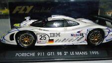 COCHE SCALEXTRIC FLY CAR MODEL PORSCHE 911 GT1 98 2º LE MANS 1998