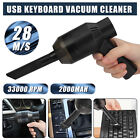 Portable Cordless Electric Air Duster Keyboard Car Cleaner Blower Rechargeable