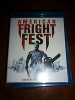 AMERICAN FRIGHT FEST - BLU-RAY DISC - NEW AND SEALED!!
