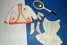 #941 Tennis Anyone? Vintage Barbie doll clothes tennis outfit 1960's